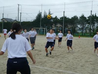 球技大会サッカー