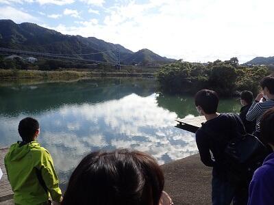 宮ケ瀬ダム親水池